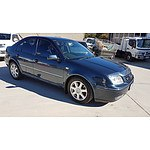 3/2005 Volkswagen Bora 2.3L V5 1J 4d Sedan Blue 2.3L