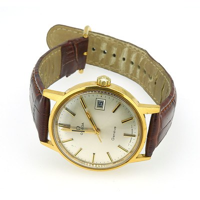 Omega Geneve Gold Plated Watch