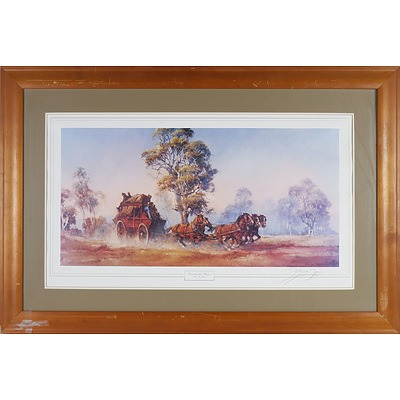 D'Arcy W. Doyle (1932-2001) Crossing the Plains 236/2000 Offset Print
