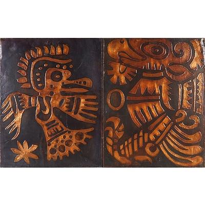 Two Copper Artworks