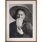 Kyaw Thit, Portrait, Graphite on Paper