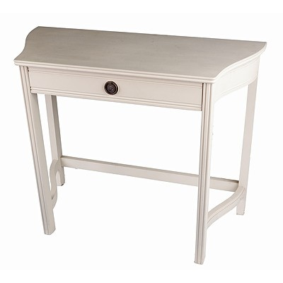 Beige Painted Hall Table