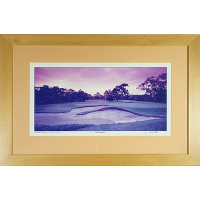 Limited Edition David Scarletti Woodlands Golf Club Photograph, 11/20