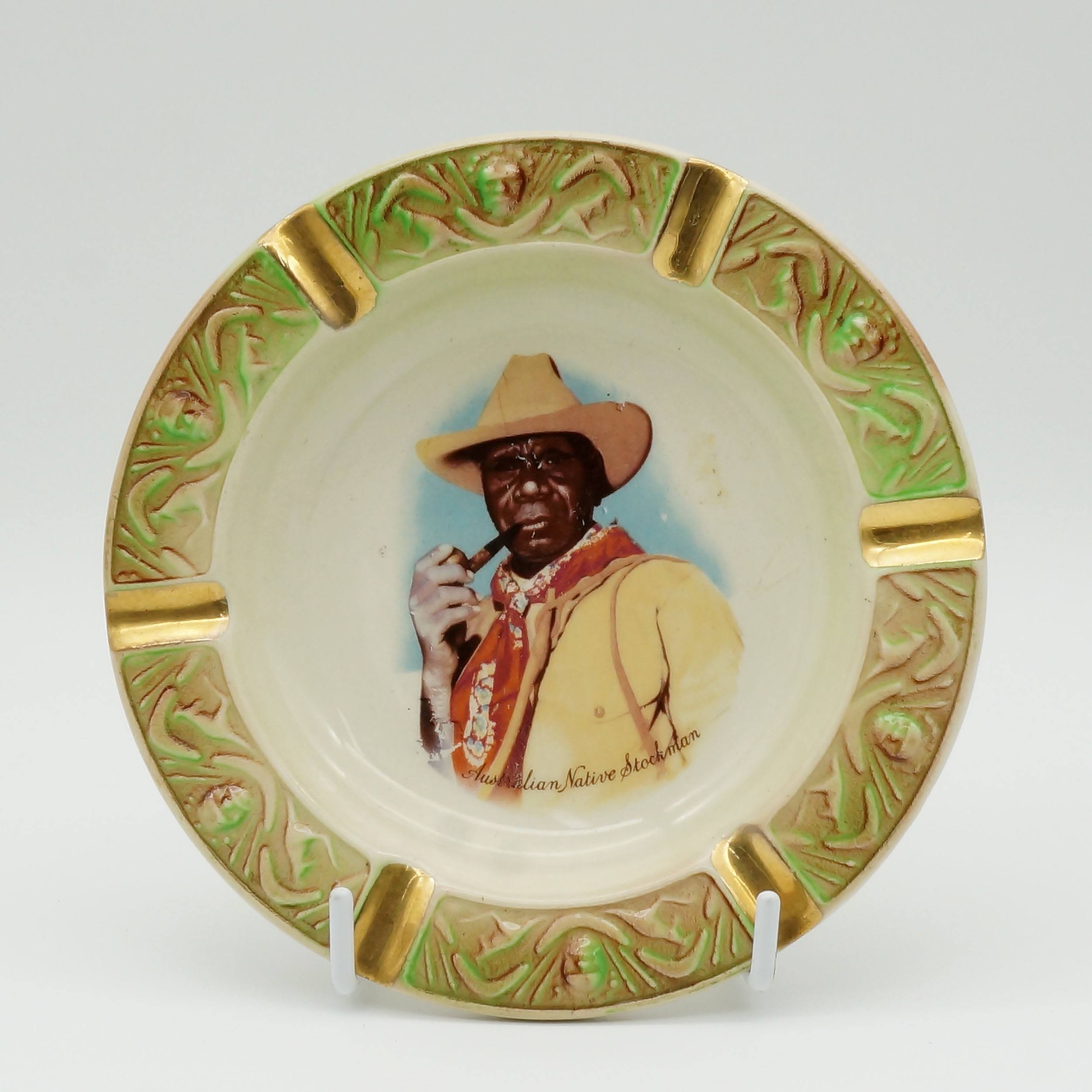 'Australian Wembley Ware Albert Namatjira Ashtray'
