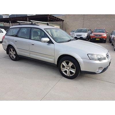 11/2003 Subaru Outback 3.0R MY04 4d Wagon Silver 3.0L