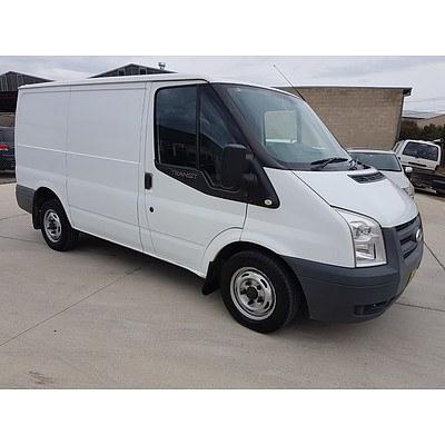 4/2008 Ford Transit LOW (swb) VM MY08 Van White 2.2L