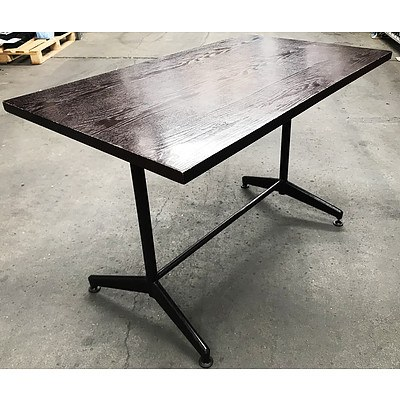 Rectangular Cafe Tables - Lot of Eight