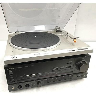 Technics DC Servo Automatic Turntable System & Digital Integrated Amplifier