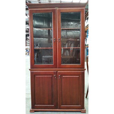 Bridgeton Furniture Cherrywood Display Cabinet