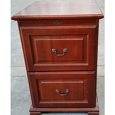Bridgeton Furniture Cherrywood Filing Cabinet