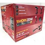 WorkZone Titanium+ 5 Piece Set - Brand New