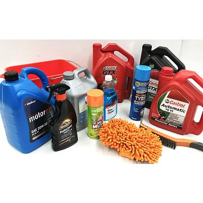 Lot of Car Care Products