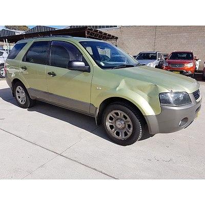 7/2004 Ford Territory TX (rwd) SX 4d Wagon Green 4.0L