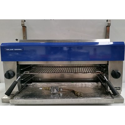 Blue Seal G91 900mm Gas Salamander Grill and Wall Mount Shelf