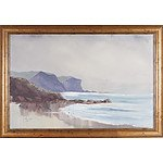 Jean Mcbeal Seascape 1999 Oil on Board