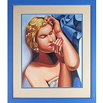 Copy of Tamara de Lempicka, Oil on Canvas