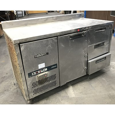 Williams Stainless Steel Bench Top Fridge
