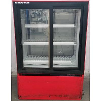 Skope 300 Litre Glass Door Drink Display Fridge