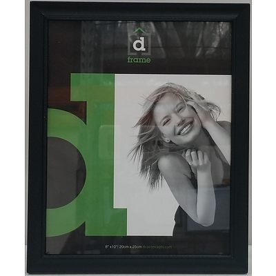 DCO Concepts 20cm x 25cm Picture Frames - Lot of 12 - Brand New