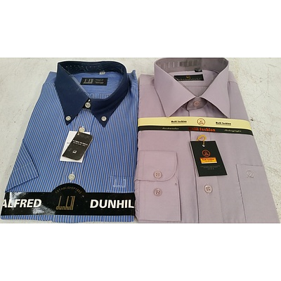 Men's Short Sleeve Business Shirts - Lot of 40 - Brand New - RRP $1600.00