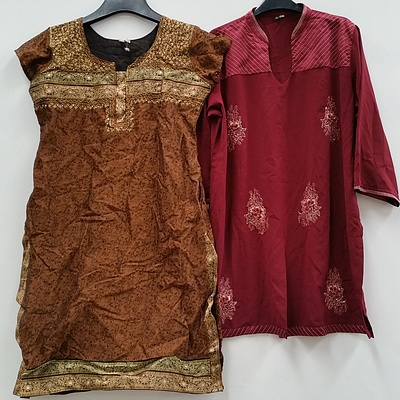 Women's Indian Style Dresses and Clothing - Lot of 65 - Brand New - RRP $2500.00