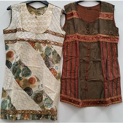 Women's Indian Style Dresses and Clothing - Lot of 105 - Brand New - RRP $3000.00