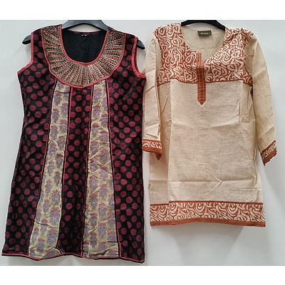 Women's Indian Style Dresses and Clothing - Lot of 50 - Brand New - RRP $1600.00