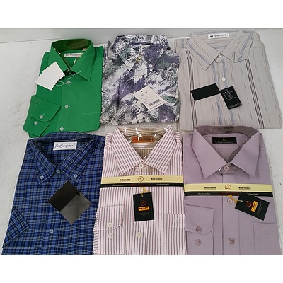 Men's Business and Casual Shirts - Lot of 50 - Brand New - RRP $2000.00