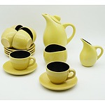 Picton Hopkins Fifteen Piece Coffee Set Circa 1950s