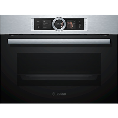 Bosch CSG656RS1A Series 8 60cm Compact Combi Steam Oven - ORP $3,899 - Brand New