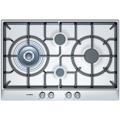 Bosch PCI815B91A Series 6 70cm 4 Burner Gas Cooktop - ORP $1,299 - Brand New