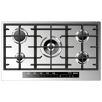 ILVE ILFM905TC 90cm 5 Burner Gas Cooktop - ORP $1,530 - Brand New