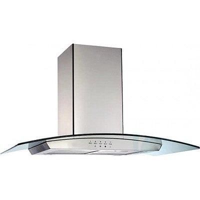 Glem CK90CGU 90cm Curved Glass Canopy Rangehood - ORP $999 - Brand New