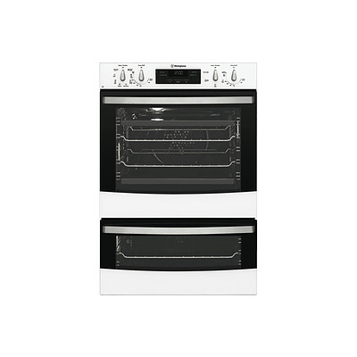 Westinghouse WVE626W 60cm Multifunction Duo Oven - ORP $1,426 - Brand New