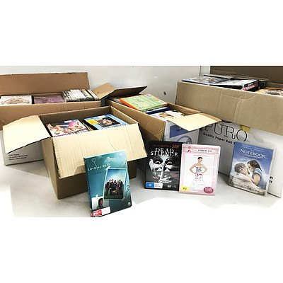 Bulk Lot of DVD Movies & TV Series - Approximately 150