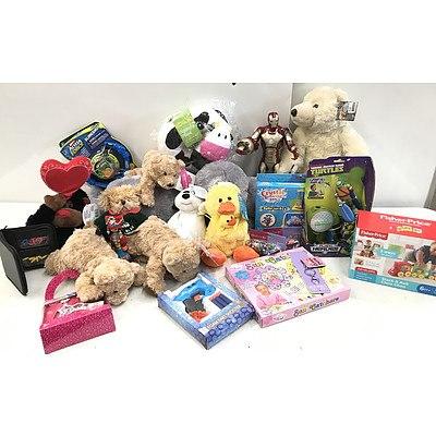 Bulk Lot of Brand New Children's Clothing & Toys - RRP Over $300