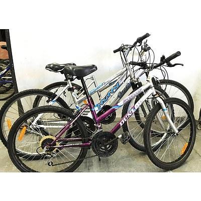 Mountain Bikes - Lot of 3
