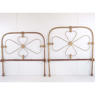 Antique Cast Iron Bedstead