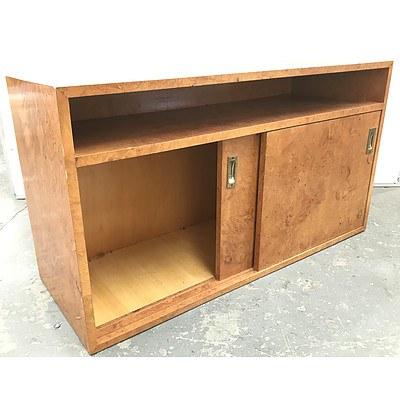 Retro Burr Cabinet