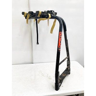 Pacific A-Frame Towball 4 Bike Straight Car Rack