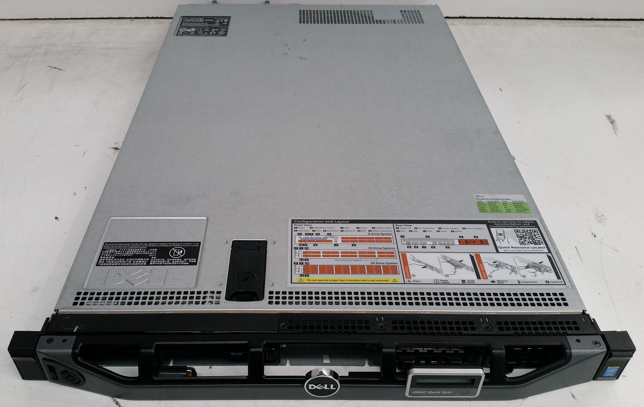 Dell PowerEdge R630 Dual Eight-Core Xeon (E5-2630 v3) 2 40GHz 1 RU Server