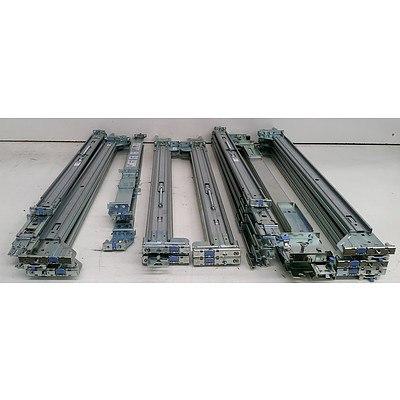 Bulk Lot of Assorted Server Rack Rails