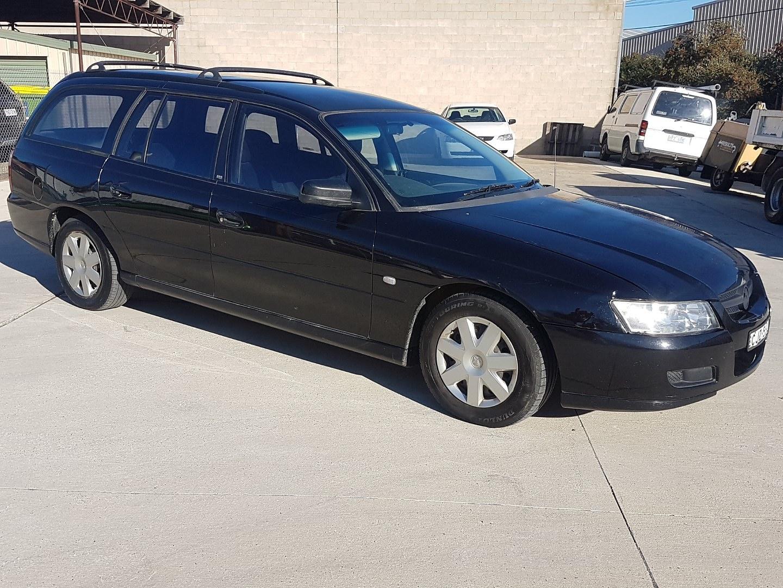 9/2005 Holden Commodore Executive VZ 4d Wagon Black 3 6L