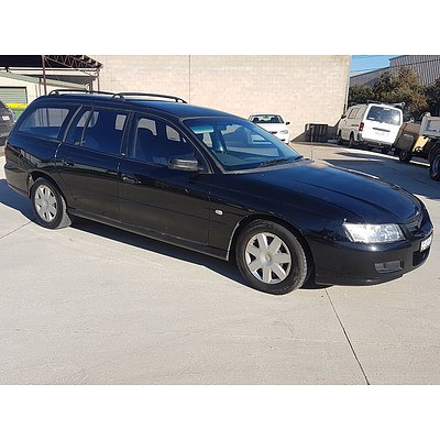 9/2005 Holden Commodore Executive VZ 4d Wagon Black 3.6L