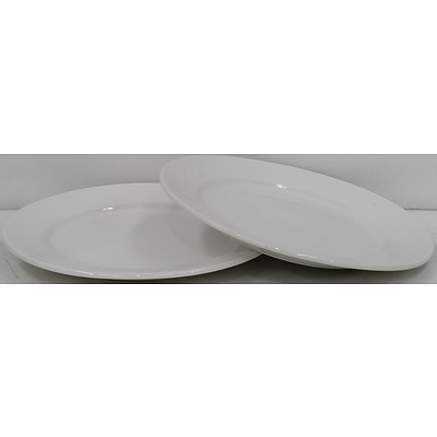 Round Entree Plates - Lot of 108 - New