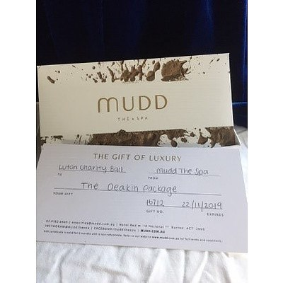 Mudd The Spa at Hotel Realm - The Gift of Luxury