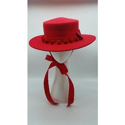 Felt Hat by Christine Waring
