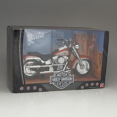 Mattel Harley Davidson Toy Motorcycle For Barbie