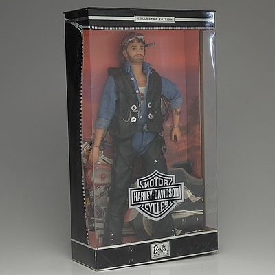 Mattel Harley Davidson Ken Barbie Doll