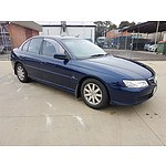 6/2003 Holden Berlina  VY 4d Sedan Blue 3.8L